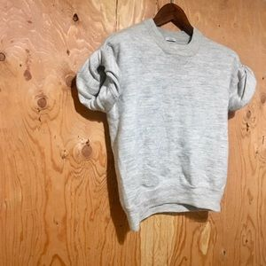 MADEWELL WALLACE Short-Sleeve Sweatshirt